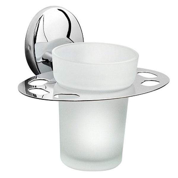купить Стакан для зубных щеток Raiber R70104 Хром по цене 403 рублей