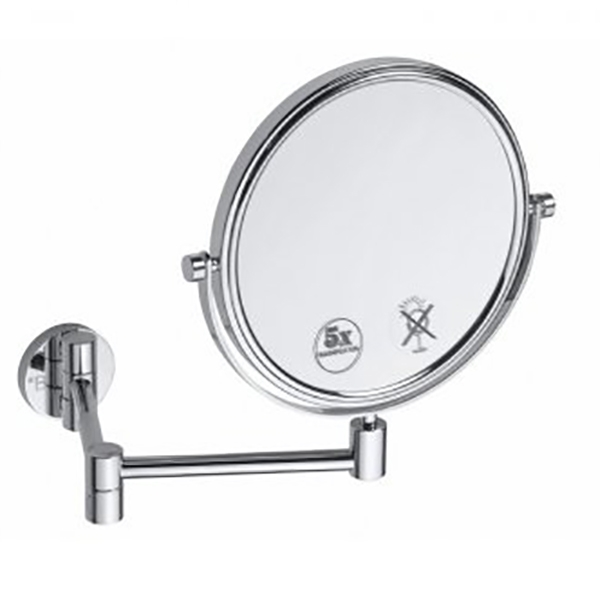 Купить Косметическое зеркало, 112201518 с увеличением Хром, Bemeta, Чехия