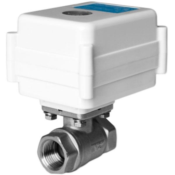 Шаровый кран Neptun AquaСontrol 220 В 1 с электроприводом - фото