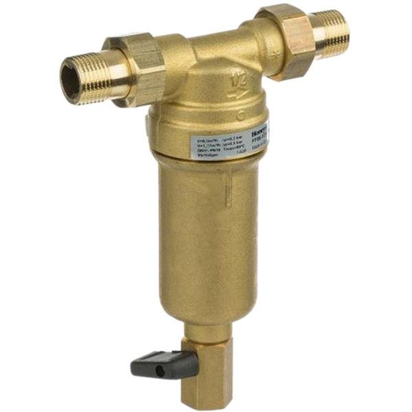 Фильтр тонкой очистки Honeywell FF06-1AAM для горячей воды с обратной промывкой фильтр honeywell ff06 1aam для горячей воды
