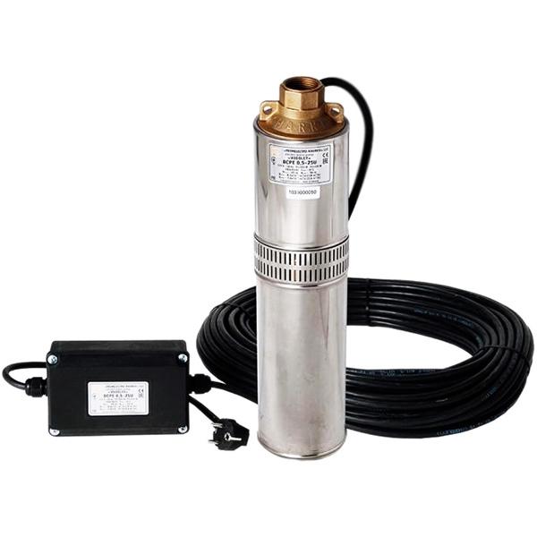 Погружной насос Водолей БЦПЭ 0,5-32У для подачи воды 650 Вт насос для воды vodotok бцпэ гв 85 0 5 35м ч