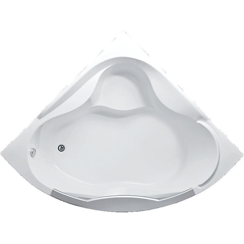 Акриловая ванна Aima Design Grand Luxe 155x155 с гидромассажем Light