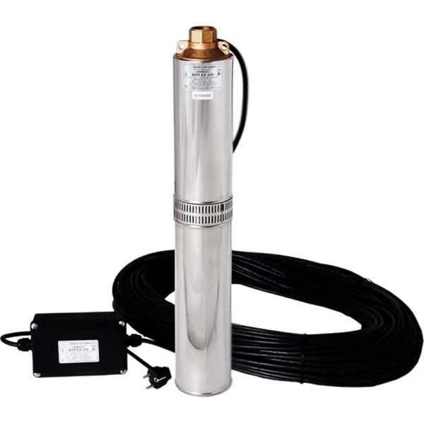 Погружной насос Водолей БЦПЭ 1,6-25У для подачи воды - фото