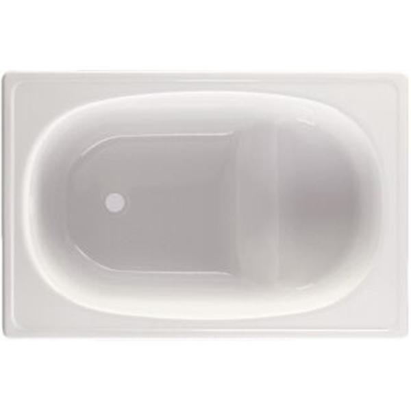 Стальная ванна BLB Europa Mini B05E 105x70 без гидромассажа