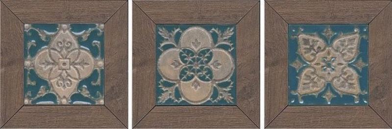 Керамическая вставка Kerama Marazzi Меранти венге мозаичный ID60 - фото