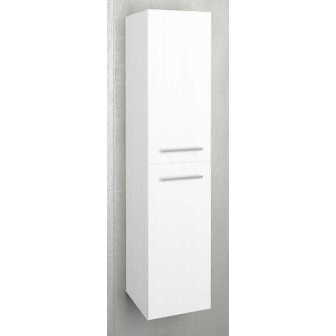 Шкаф-пенал 1MarKa Соната 35 подвесной с бельевой корзиной - фото