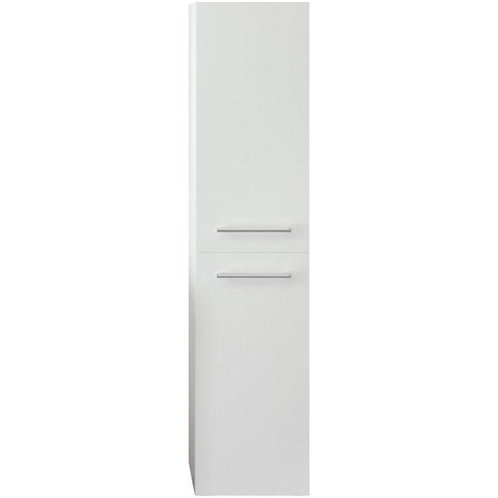 Шкаф пенал 1MarKa Соната 35П R Белый глянцевый фото