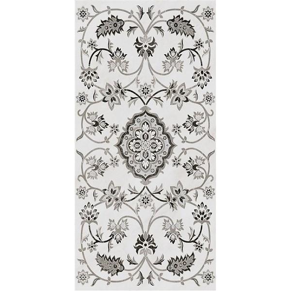 Керамогранит Kerama Marazzi Парнас серый декорированный лаппатированный SG810302R - фото