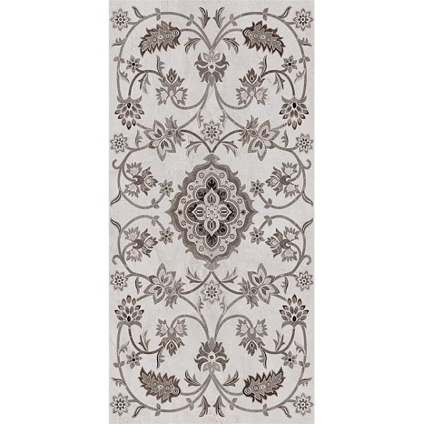 Керамогранит  Kerama Marazzi Парнас пепельный декорированный лаппатированный SG810402R - фото