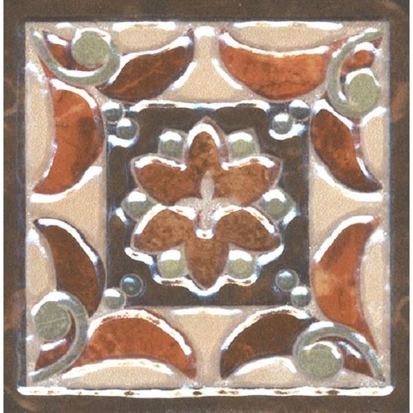 Керамическая вставка Kerama Marazzi Мраморный дворец лаппатированный HG/DA201/SG1550L 7,2х7,2 см