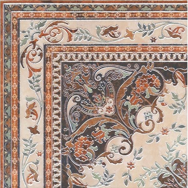 Керамический декор Kerama Marazzi Мраморный дворец ковёр угол лаппатированный HG/DA174/SG1550 - фото