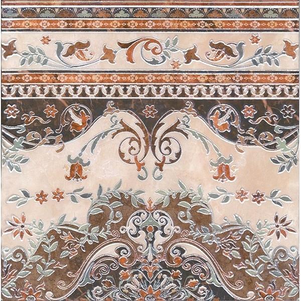 Керамический декор Kerama Marazzi Мраморный дворец ковёр лаппатированный HG/DA175/SG1550 - фото