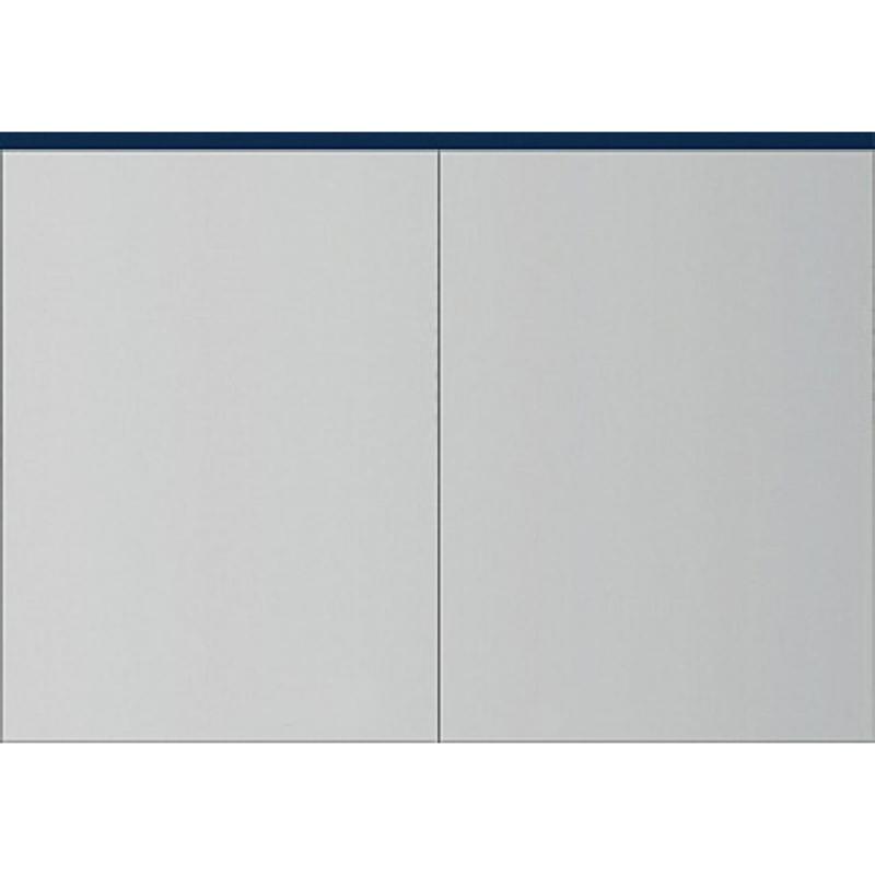 Зеркальный шкаф AM PM Spirit V2.0 101 с подсветкой Синий зеркальный шкаф am pm spirit v2 0 60 с подсветкой l синий