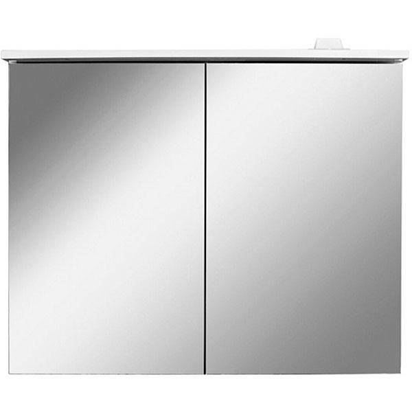 Зеркальный шкаф AM.PM Spirit V2.0 81 с подсветкой Белый