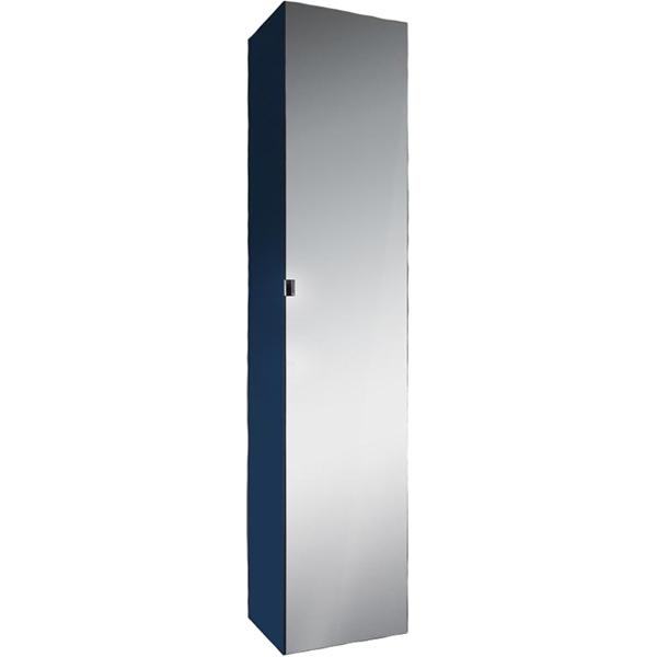 Шкаф-пенал AM PM Spirit V2.0 35 подвесной L Синий зеркальный шкаф am pm spirit v2 0 60 с подсветкой l синий