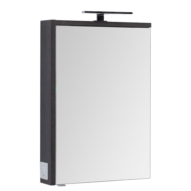 Зеркальный шкаф Aquanet Фостер 60 202060 Эвкалипт мистери Белый раковина aquanet фостер 700