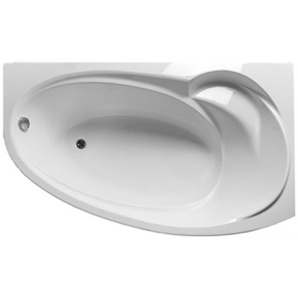 Акриловая ванна Marka One Julianna 160х95 L с гидромассажем Intense акриловая ванна marka one raguza 180х80 с гидромассажем intense