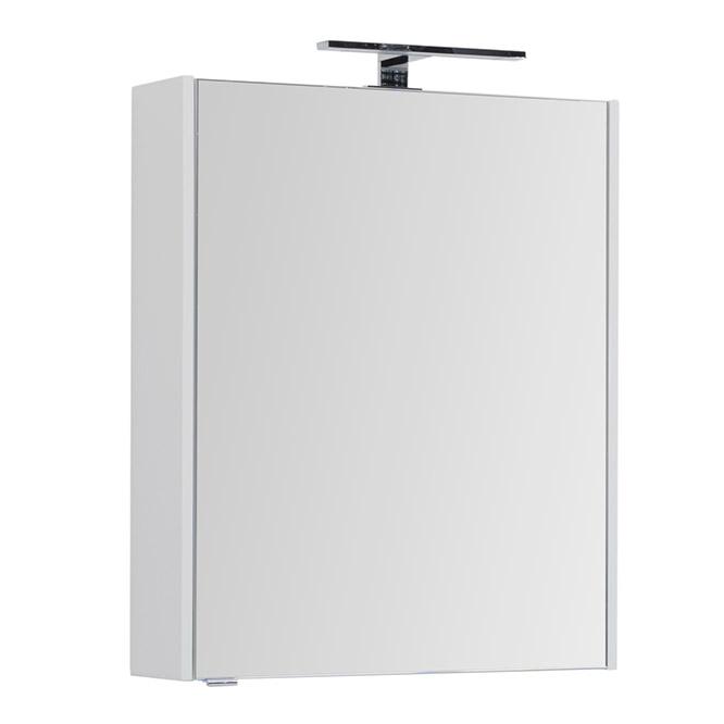 Зеркальный шкаф Aquanet Палермо 60 203939 Белый глянец