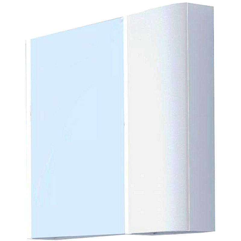Зеркальный шкаф Акватон Ондина 80 1A183502OD010 Белый aquaton ондина 100 1a176102odg20 графит