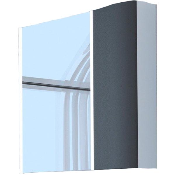 Зеркальный шкаф Акватон Ондина 80 1A183502ODG20 Графит aquaton ондина 100 1a176102odg20 графит