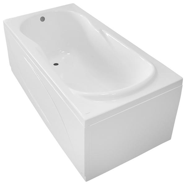 Акриловая ванна Santek Каледония 170x75 без гидромассажа ванна из искусственного камня jacob delafon elite 170x75 с щелевидным переливом e6d031 00 без гидромассажа