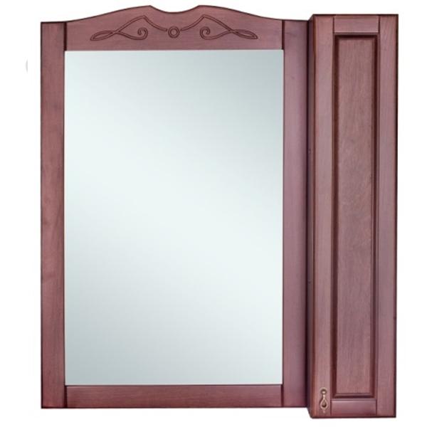 Зеркальный шкаф Orange Classic 85 Орех