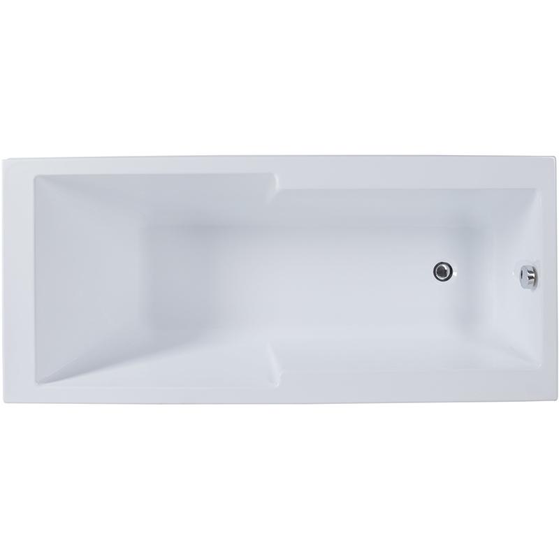 Акриловая ванна Aquanet Taurus 170x75 без гидромассажа акриловая ванна 190x100 см aquanet vega 00205556