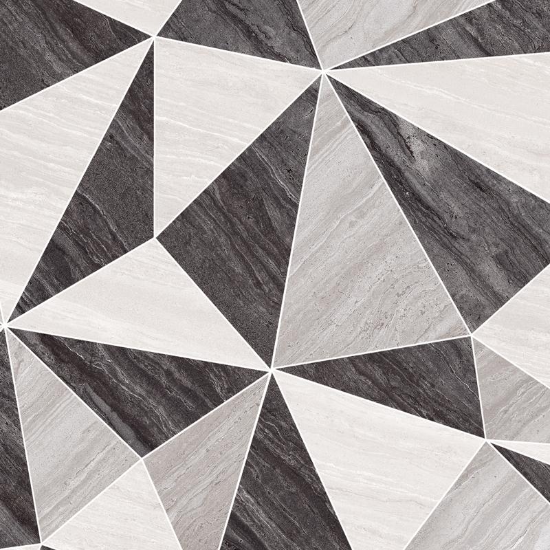 Керамогранит Ceracasa Solei R Deco Pulido Grey 49,1х49,1 см