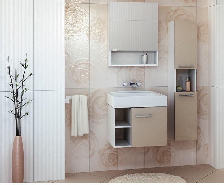 Balzo 55 покрытие шпонМебель для ванной<br>Цена указана за тумбочку с раковиной (покрытие шпон). Раковина из литьевого мрамора. Отдельно приобретаются фасады глянец разных цветов.<br>
