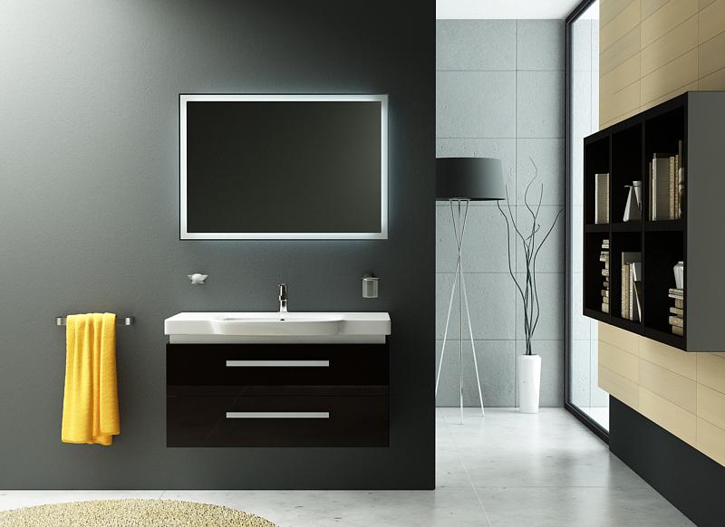 Lusso LS101 подвесная АквамаринМебель для ванной<br>В стоимость входит тумба с раковиной Verona Lusso LS101. Тумба подвесная с двумя выдвижными ящиками с механизмом плавного закрытия, раковина из санфаянса. Зеркало, пеналы и шкафы приобретаются отдельно.<br>