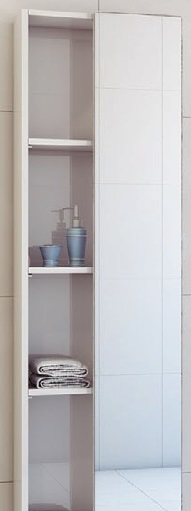 Festa Fst450 Белый-ПремиумМебель для ванной<br>Festa Fst450 шкаф-пенал универсальный в цвете (белый-премиум)<br>