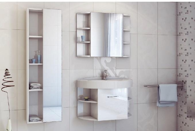 Festa 85 покрытие глянецМебель для ванной<br>Цена указана за тумбочку с раковиной (в цветах RAL).Раковина из литьевого мрамора<br>