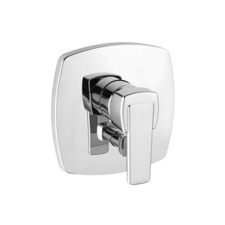 Q-Beo 506500575 ХромСмесители<br>Смеситель для ванны Kludi Q-Beo 506500575 однорычажный. В комплект входят: функциональный элемент с керамическим картриджем с ограничителем горячей воды, автоматическое переключение душ/ванна. Покрытие хром.<br>