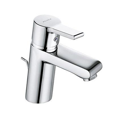 O-Cean 383500575 ХромСмесители<br>Смеситель для умывальника Kludi O-Cean 383500575 однорычажный. В комплект входят: аэратор s-pointer Eco M 24 x 1, керамический картридж с ограничителем горячей воды, донный клапан 1 1/4, система быстрого монтажа, гибкая подводка G 3/8. Покрытие хром.<br>