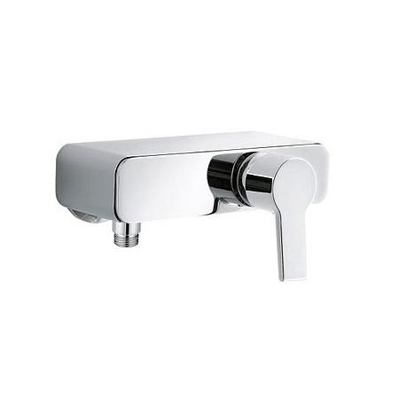 O-Cean 389700575 ХромСмесители<br>Смеситель для душа Kludi O-Cean 389700575 без душевого гарнитура. В комплект входят: керамический картридж с ограничителем горячей воды, s-образные эксцентрики G 1/2 x G 3/4, отвод для душа G 1/2, защита от обратного тока воды, съемная панель-полочка. Покрытие хром.<br>