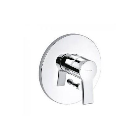 O-Cean 387500575 ХромСмесители<br>Смеситель для ванны Kludi O-Cean 387500575 встраиваемый, однорычажный. В комплект входят: функциональный элемент с керамическим картриджем, с ограничителем горячей воды, автоматическое переключение душ/ванна. Покрытие хром.<br>