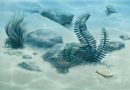 Керамический декор Alma Ceramica Лагуна Водоросли 7ВД606 24,9х36,4 см стоимость