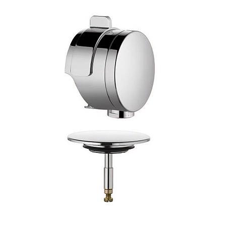Rotexa 7085605-00 ХромКомплектующие<br>Система налива и слива-перелива Kludi Rotexa 7085605-00. В комплект входят следующие опции: аэратор s-pointer M 24 x 1, комплект для внешнего монтажа, более длинный вынос для ванн с утопленным отверстием перелива с крепежными винтами и пробкой с большой крышкой. Покрытие хром.<br>