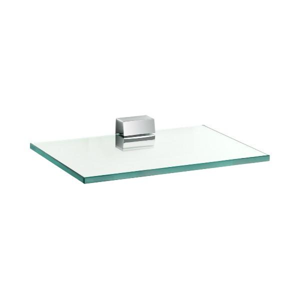 Joop 5597305H7 Хром с зеленым хрусталемАксессуары для ванной<br>Полочка для ванной Kludi Joop 5597305H7 из хрустального стекла.<br>