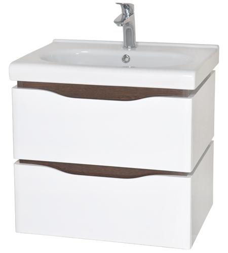 Венеция 60 подвесная ВенгеМебель для ванной<br>Тумба с умывальником Аква Родос Венеция 60 подвесная. Цвет венге.<br>