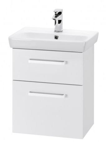 GO 60 S Белый глянец, ручка АМебель для ванной<br>Тумба подвесная GO-60 S под умывальник Мини-60,белый глянец,ручка-А.<br>