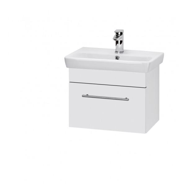 SOLO 55 БелыйМебель для ванной<br>Тумба подвесная SOLO-55 под умывальник Мини-55, белый.<br>