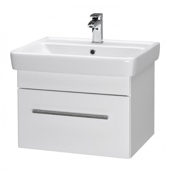 Q UNO 60 ОрехМебель для ванной<br>Тумба подвесная Q UNO-60 под умывальник Q-60, орех.<br>