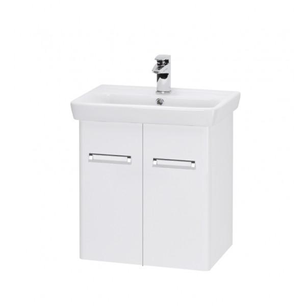 DOOR 60 БелыйМебель для ванной<br>Тумба подвесная DOOR-60 под умывальник Мини-60, белый.<br>