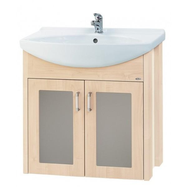 La Futura 65 ВенгеМебель для ванной<br>Тумба подвесная LA FUTURA-65 под умывальник Лагуна-65, венге.<br>