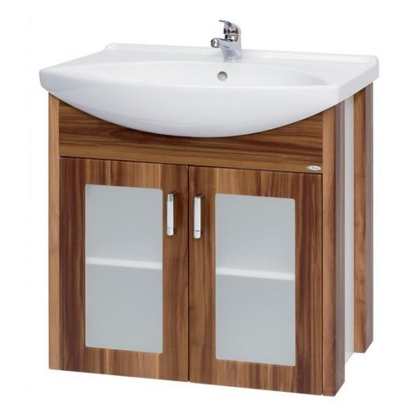 La Futura 85  ВенгеМебель для ванной<br>Тумба подвесная LA FUTURA-85 под умывальник Лагуна-85, венге.<br>