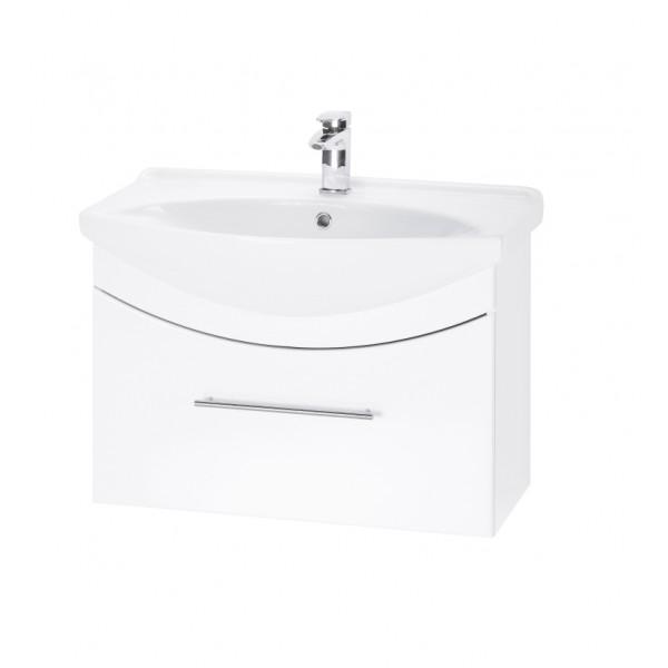 WIND 65 БелыйМебель для ванной<br>Тумба подвесная WIND-65 под умывальник Лагуна-65, белый.<br>