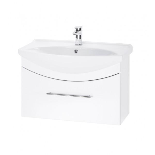 WIND 75 БелыйМебель для ванной<br>Тумба подвесная WIND-75 под умывальник Лагуна-75, белый.<br>