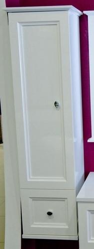Классик правый в цвете RALМебель для ванной<br>Пенал Классик правый. Пенал подвесной с одним выдвижным ящиком и распашной дверцей.<br>