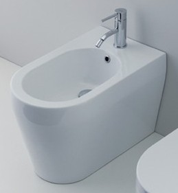 Genesi BG НапольноеБиде<br>Биде Nero Ceramica Genesi BG напольное, размер 550x350 мм, белое.<br>